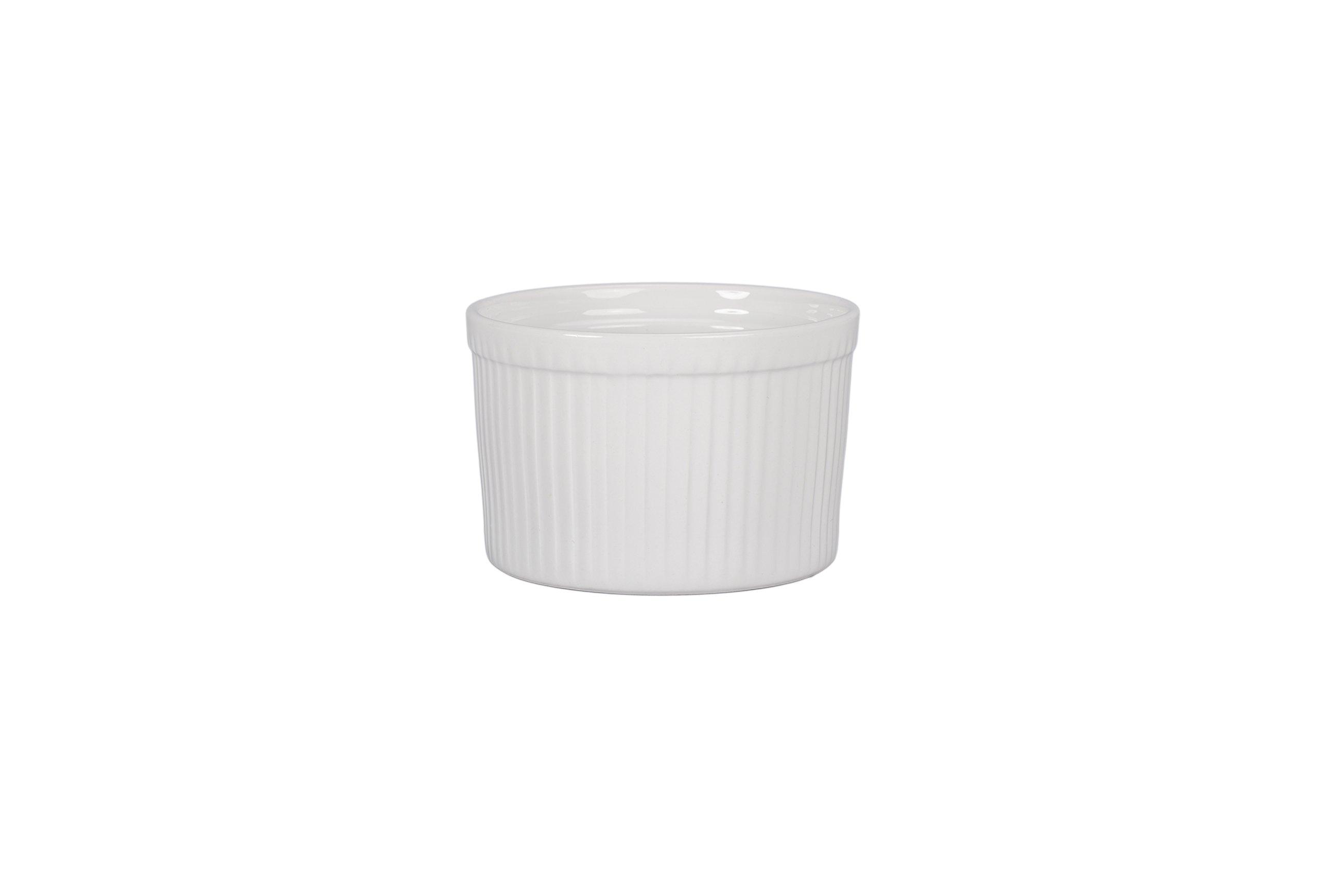 BIA Cordon Bleu 900020S4SIOC Classic Bakeware Souffle Dish, White by BIA Cordon Bleu