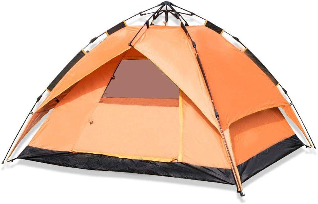 LYN Tienda de campaña, Tienda de campaña para 3 Personas, Tienda de protección Rainfly de Doble Capa con Bolsa de Transporte para Camping/Senderismo/Viajes/Caza BLUE