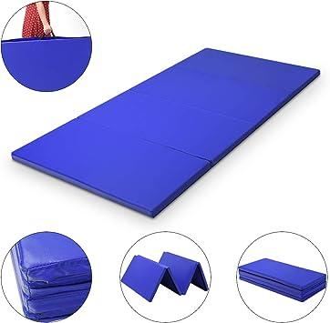 Weichbodenmatte Gymnastikmatte Yogamatte Turnmatte Fitnessmatte 180 x 60 x 5 cm