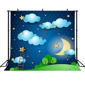 amazon fh 10 x 10 dreamy cartoon backdrop ladder to the sky starry