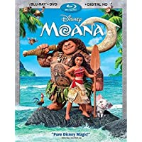 Moana (Bilingual) [Blu-ray + DVD + Digital HD]