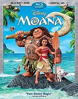 Moana (Bilingual) [Blu-ray + DVD + Digital HD] (B01MAZGLMP) | Amazon Products