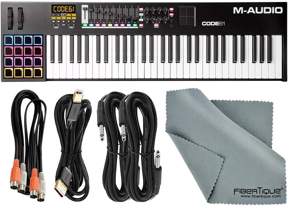 M-Audio Code 61 Controlador de teclado USB/MIDI de 61 teclas ...