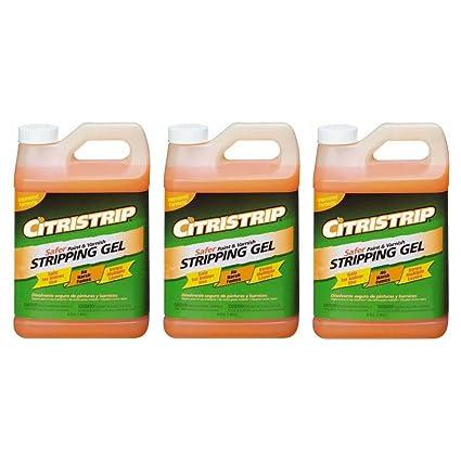 Citristrip Paint Varnish Stripping Gel 12 Gallon 3 Pack