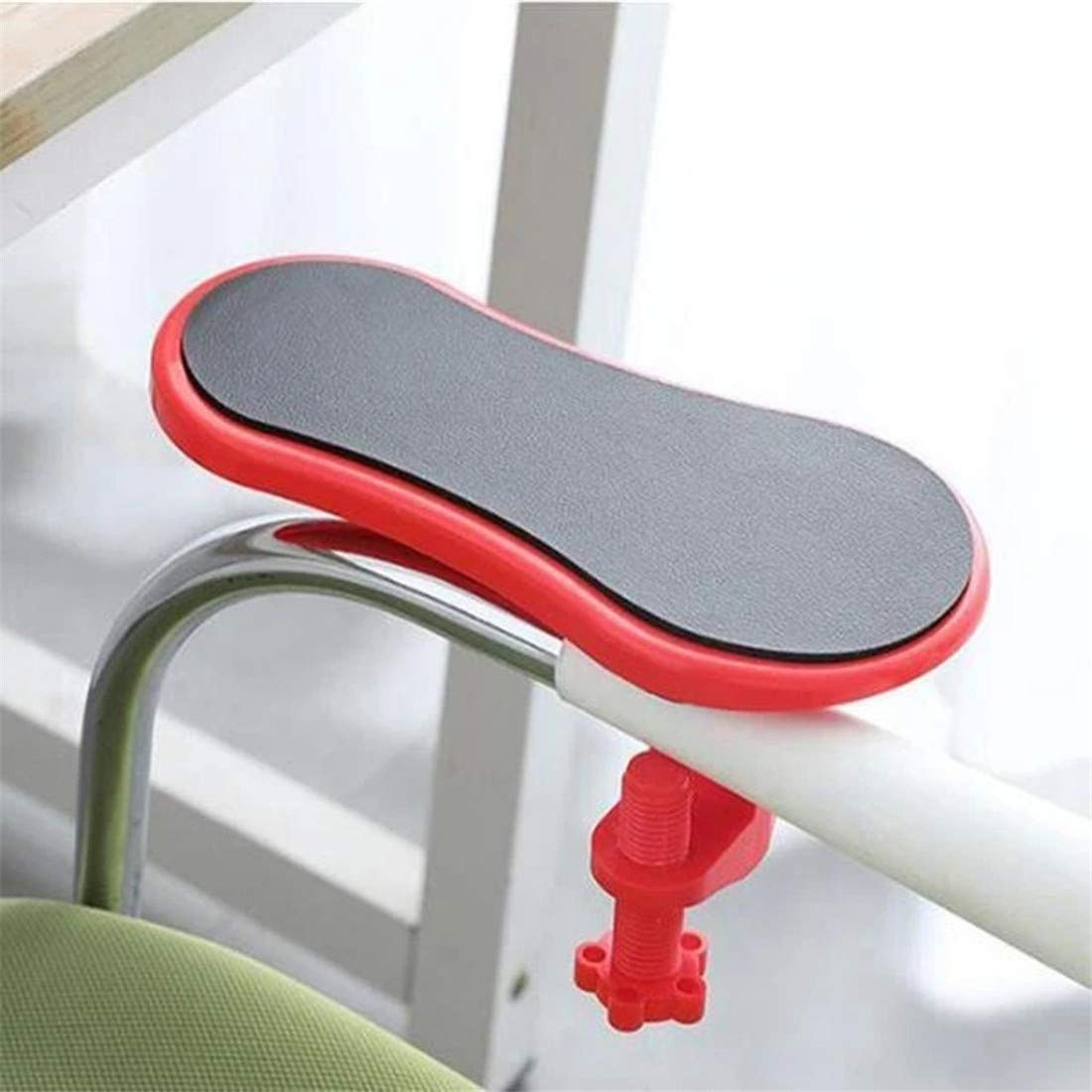Freeby Desk Attachable Wrist Rest Rotated Computer Arm Bracket Support Mouse Pad