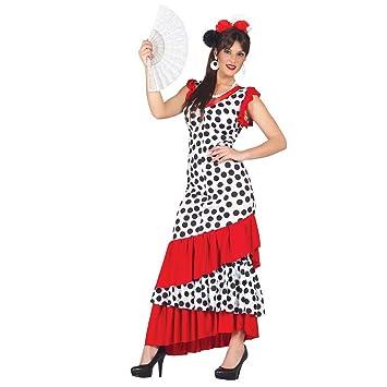Disfraz flamenca Carmen Vestido flamenco español L 42/44 Ropa bailarina andaluza Atuendo señorita de