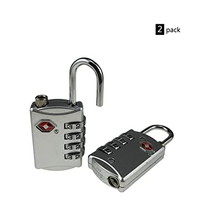 Locks Honest 2xtsa Approve Luggage Travel Suitcase Bag Lock 3 Digit Combination Padlock Reset Factory Direct Selling Price