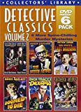 Detective Classics, Volume 2 (Dick Tracys Dilemma / Mr. Motos Last Warning / Mr. Wong - Doomed to Die / Mr. Wong - Fatal Hour / Sherlock Holmes and the Secret Weapon / Sherlock Holmes - Terror By Night) (6-DVD)