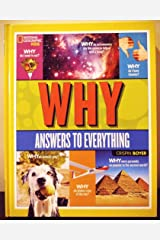 National Geographic Kids: WHY ? - Answers to Everything Unknown Binding