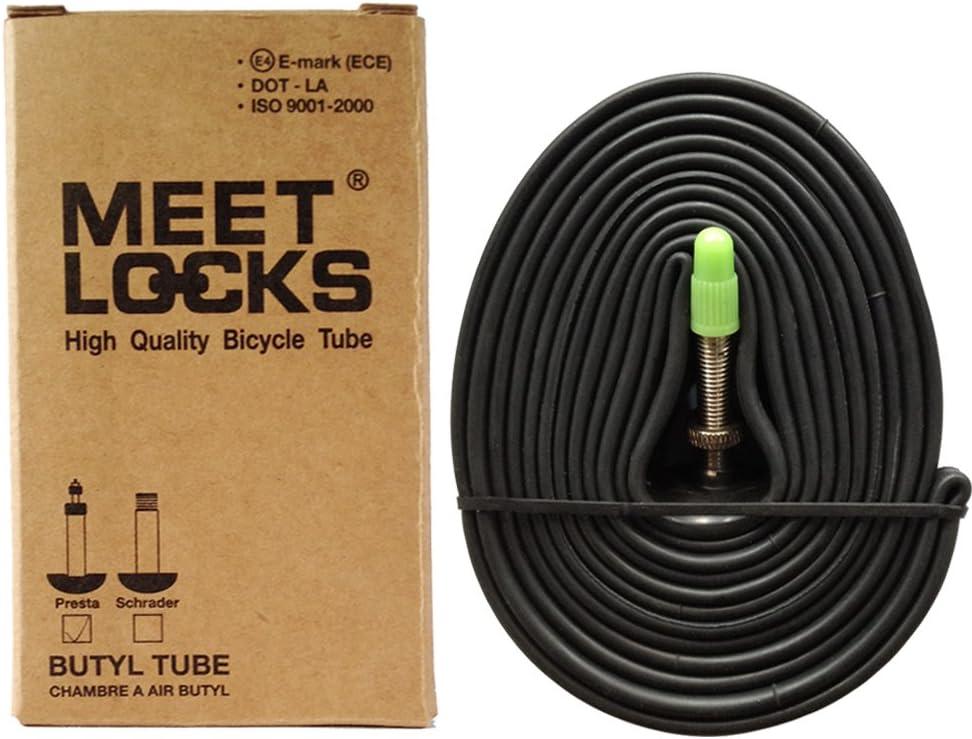 25//28-622 PRESTA VALVE TYPE 40mm 50mm WHEEL ROAD INNER TUBE 700x25C 28C