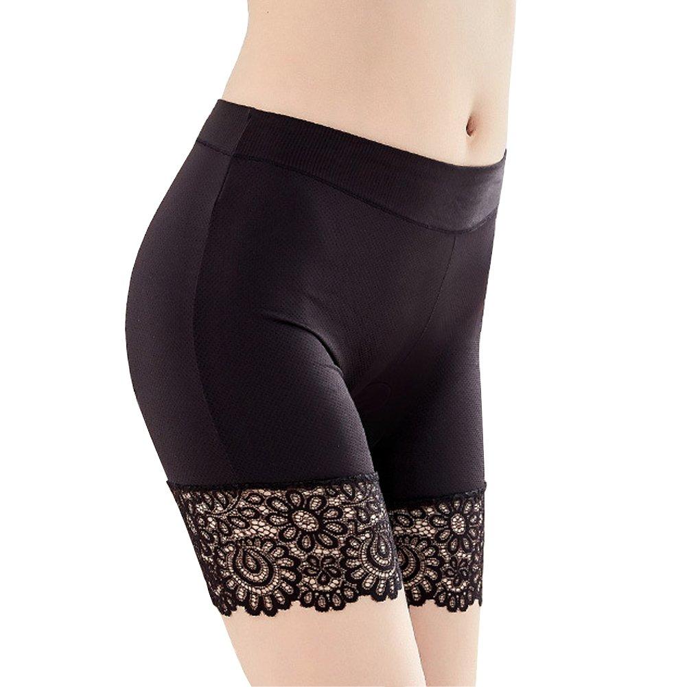 HNYG Women's Safety Shorts 3 Packs Underwear Pants Lace Leggings Freesize A650