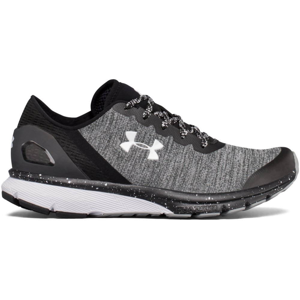 Under Armour Women's Charged Escape Running Shoes - SS18 B075MR1D3S 5 B(M) US|Black/Black/White
