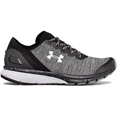 Under Armour UA W Charged Escape, Chaussures de Running Compétition Femme, Noir (Black), 35.5 EU