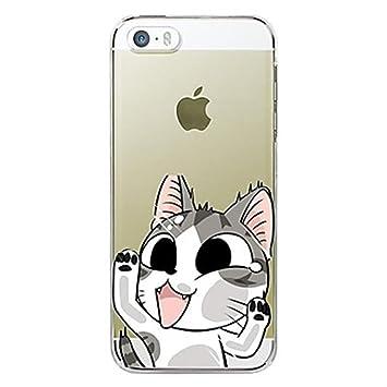coque iphone 5 transparente chat