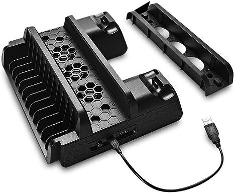 Ventilador de enfriamiento compatible con PS4/PS4 Pro/PS4 Slim ...