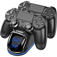 OIVO PS4 Controller Charger, PS4 Slim/Pro Controller Charging Dock Station with LED Indicators Compatible with…