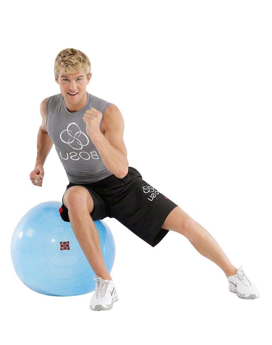 Bosu – Lastre Ball, incluye DVD de ejercicios: Amazon.es: Salud y ...