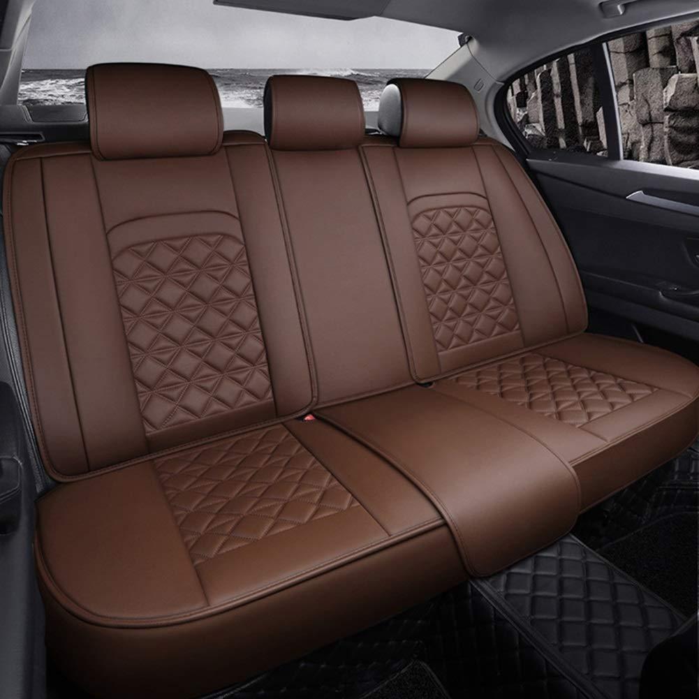 Waterproof Cuero De La PU Funda Asiento Coche Cojines Juego Completo Universal para BMW 1 3 5 7 Series X1 // X3 // X5 // X6 5 Asientos