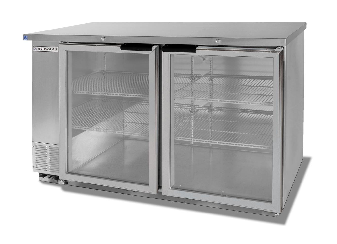 12.1cf Two Section Stainless Steel Shallow Depth Bar Cooler