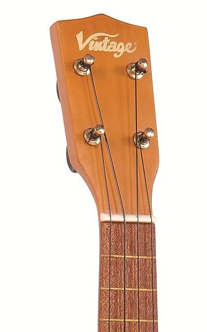 Vintage vuk20n   ukelele (tipo vintage), color marrón: amazon.es ...