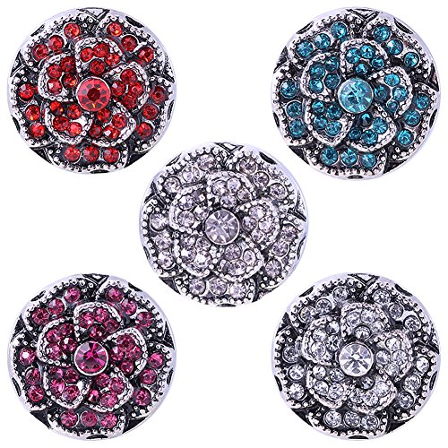 Soleebee Rhinestones Buttons Chunks Jewelry