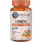 Garden of Life Mykind Organics Turmeric Inflammatory Response Gummy - 120 Real Fruit Gummies For Kids & Adults, 50Mg…