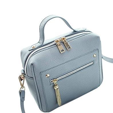 b10ae43ba80 Women Wallet Cross-body Bag Leather Purse Coin Cell Phone Mini Pouch ...