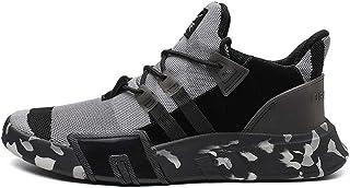 YAYADI Chaussures De Course pour Hommes Camouflage Léger Respirant Mesh Chaussures De Sport Fitness Adultes Lace Up Men Sneakers