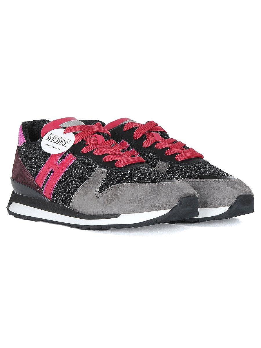 Hogan Sneaker Rebel R261 Running  Amazon.it  Abbigliamento bf13c799cb7