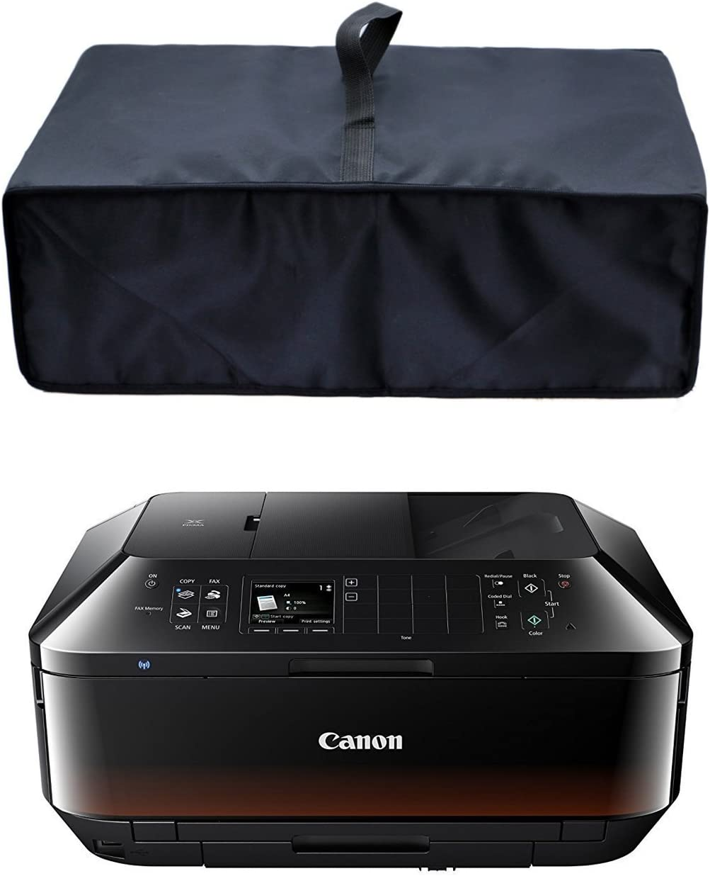 CYGQ Heavy Duty Nylon Antistatic Water Resistant Printer Cover Case, Premium Fabric Printer Dust Cover for Canon Pixma MX922/MX492/MX532 Printers