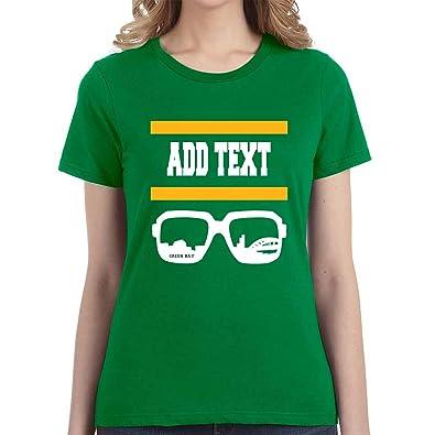 Green Bay - Custom T-Shirt - Add Your Own Text - Football Fan Gear ... f616b9befc
