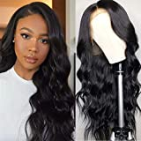 Ucrown Hair Lace Front Wigs Brazilian Body Wave Human Hair Wigs For Black Women (16 inch) 150% Density Pre Plucked with…