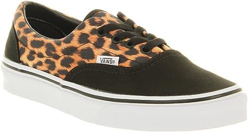 Vans Era Leopard Black True White
