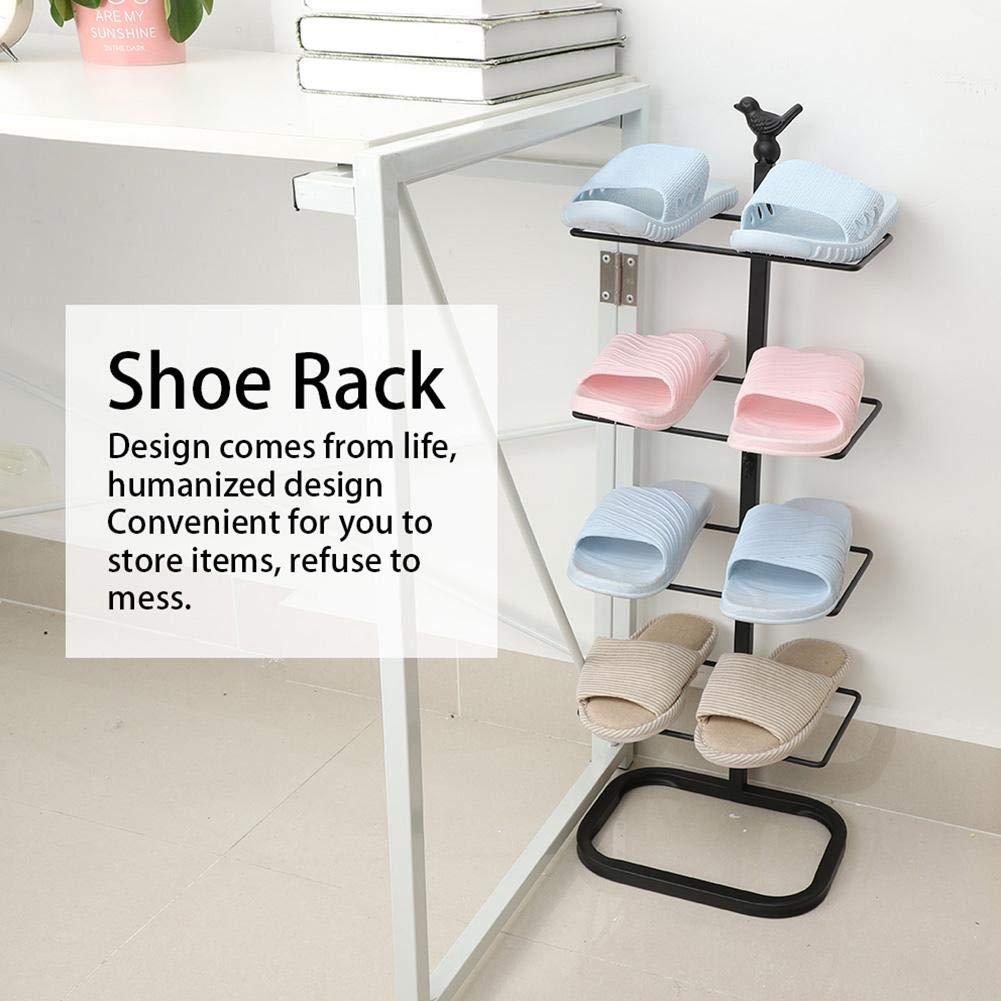 para el hogar Expositor Organizador de Zapatos de Entrada TOPINCN Zapatero Europeo Creativo de Cinco Niveles Oficina