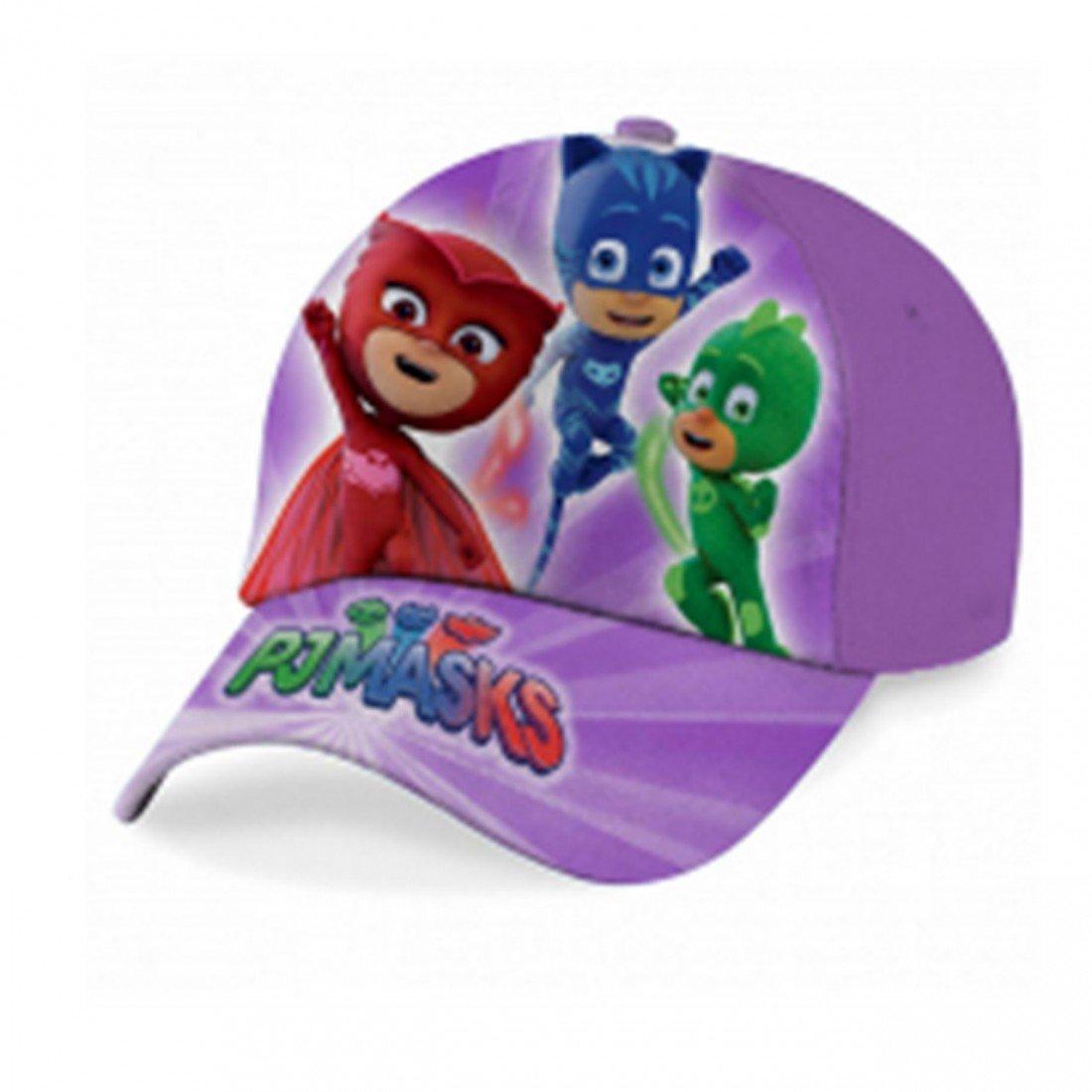 CAPPELLO bambina PJMASKS cappellino SUPERPIGIAMINI a visiera regolabile velcro