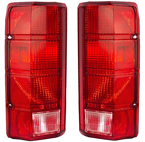 NEW PAIR OF TAIL LIGHTS FIT FORD BRONCO 1980-1986 F100 FO2800103 E4TZ 13404 B E4TZ13404B E4TZ-13404-B E4TZ 13405 B E4TZ13405B E4TZ-13405-B FO2801102