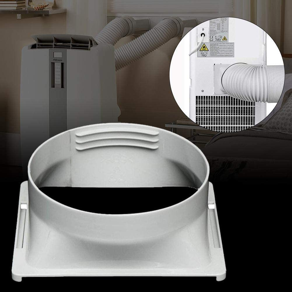 tubo di scarico raccordo per adattatore Tubo di sfiato per condizionatore daria portatile 130 mm//150 mm di diametro universale con lunghezza 150 cm//200 cm adattatore di scarico piatto da 13 cm