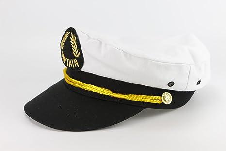 Bitacora Gorra capitán Blanco Marinera Visera Barco náutica velero