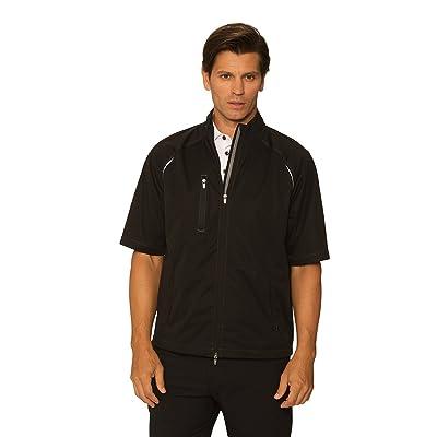 .com : Chase54 Mens Bryce Short Sleeve Wind Jacket : Clothing