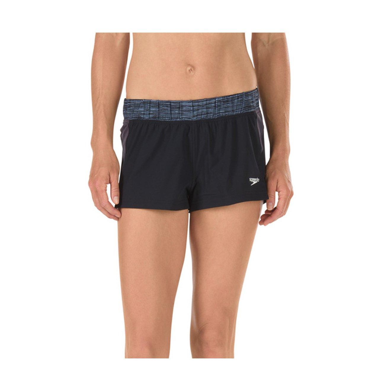 Speedo Womens Four-Way Stretch Swim Shorts