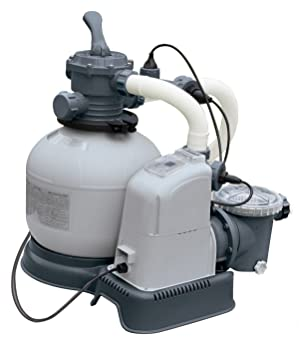 Intex GPH Saltwater System & Sand Filter Pump Set