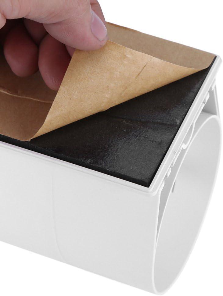 Tianhaik Distributeur de Gobelets deau Distributeur de Gobelets en Papier Jetable Distributeur Mural en Plastique /Étanche /à La Poussi/ère