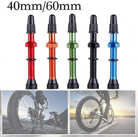 Tool for Road MTB Bike Tubeless Tire 2pcs 48mm Alloy Stem Presta Valve