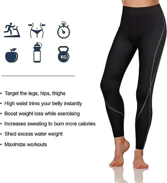 Amazon.com: Rolewpy - Pantalones de neopreno para mujer ...