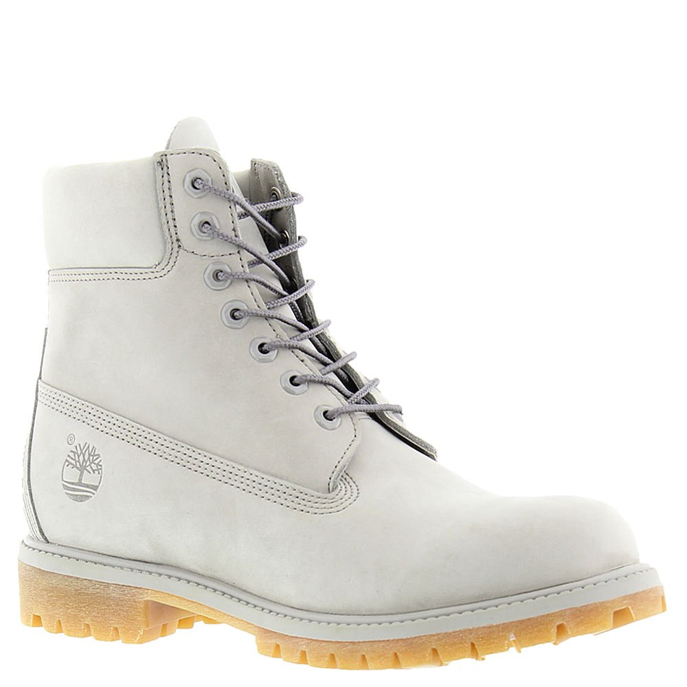 Timberland 6 Inch Premium Waterproof Mens Boots Light Grey tb0a1gau (10.5 D(M) US) by Timberland