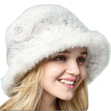 0a353ad1598fd Women Hat Lady's Cap Hand Knitted Mink Fur Cap Mink Fur Hat Winter ...