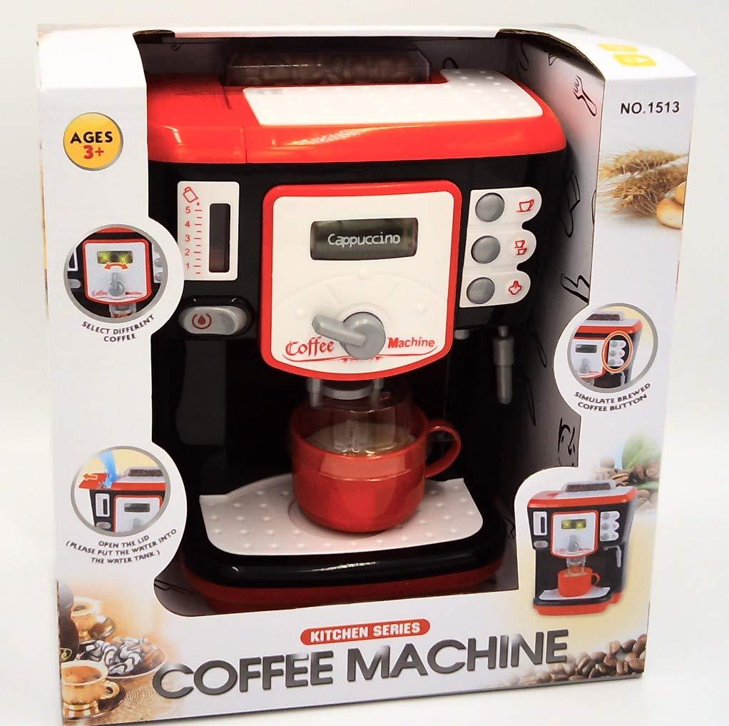 GIRL FUN TOYS Latte, Cappuccino and Macchiato Coffee Machine Kitchen Toy by GIRL FUN TOYS
