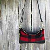 Willamette Crossbody in Pendleton® wool and full grain leather
