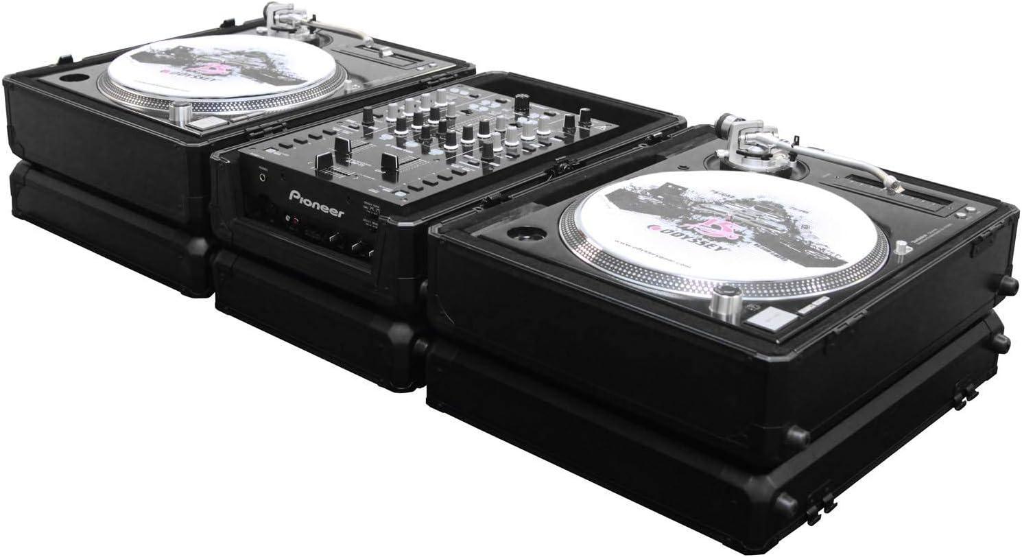 Amazon.com: Odyssey k1200bl Negro Krom Series Turntable ...