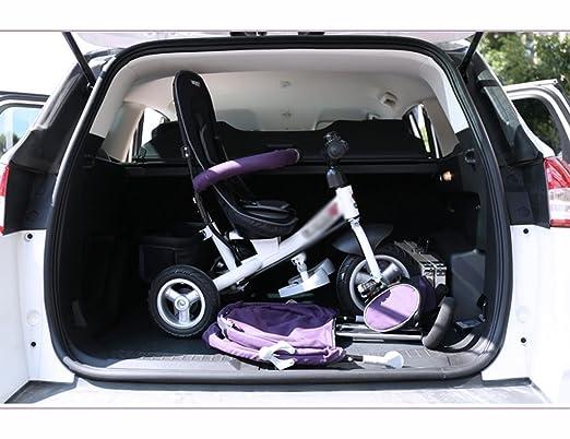 Triciclos Triciclo de niños 1-3 años de edad bicicleta multifunción bebé carro de bebé bicicleta Trolley niños 3 ruedas (Color : Purple) : Amazon.es: ...